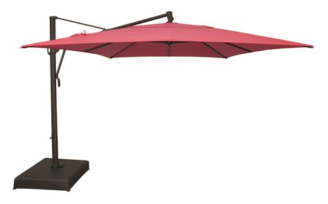 rectangular offset patio umbrella milgreen patio furniture 10 x13 rectangular cantilever