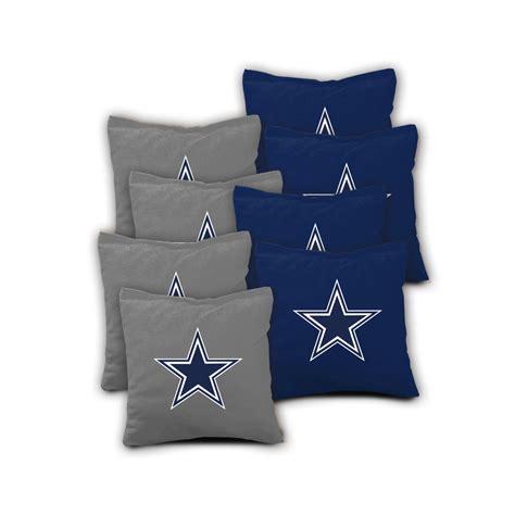 Bean Bags Dallas Dallas Cowboys Set Of 8 Aca Regulation Bags Bean Bag