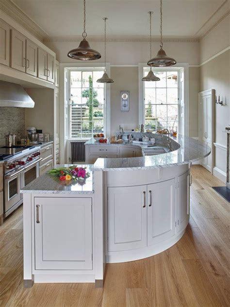 curved kitchen island designs best 25 round kitchen island ideas on pinterest curved