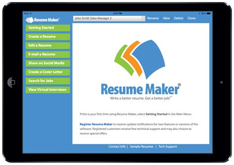 write a better resume resume maker for individual software