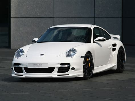 Porsche 911 997 Turbo by 2007 Techart Porsche 911 997 Turbo Front Angle