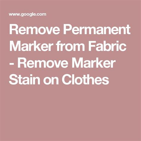 how to remove permanent marker from fabric sofa 17 best ideas about remove permanent marker on pinterest
