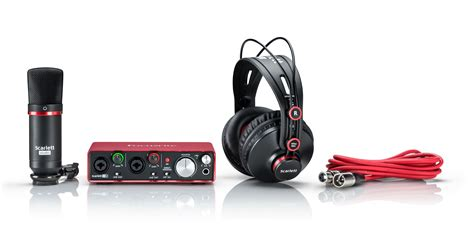 Focusrite 2i2 2nd Usb 2 0 Audio Interface 2 In 2 Out focusrite 2i2 studio 2nd 2x2 usb 2 0 audio interface with mic phones cable pack