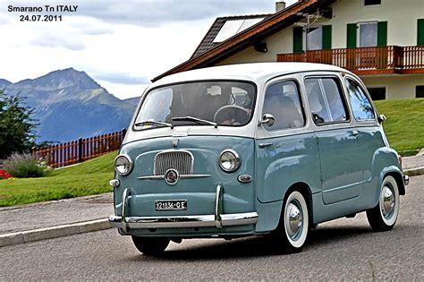 fiat multipla vintage cars classic fiat 600 minivan multipla italia italie