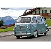 Cars Classic Fiat 600 Minivan Multipla Italia Italie