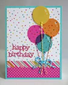 Birthday Card For Handmade - handmade birthday cards pink lover