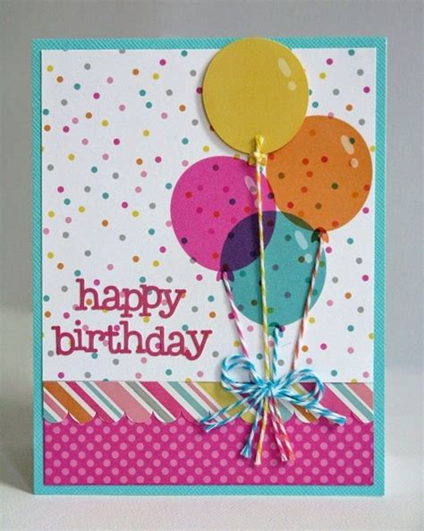 Creative Handmade Birthday Cards - handmade birthday cards pink lover