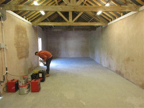 Barn Conversion Garage Floor Renovation Lanchester Durham