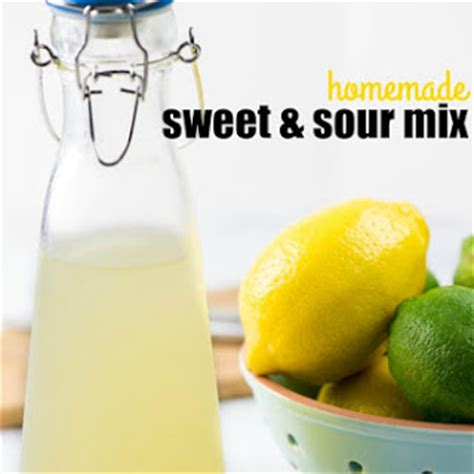 10 best sweet sour drink mix recipes