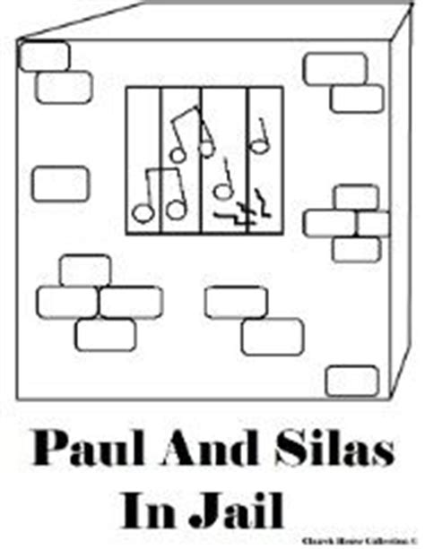 printable games for jail paul and silas coloring pages paul and silas in jail