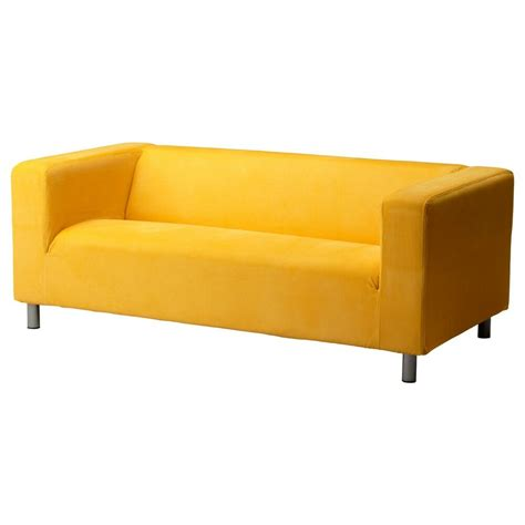 Klippan Slipcover by Ikea Klippan Slipcover Leaby Yellow Sofa Loveseat Cover