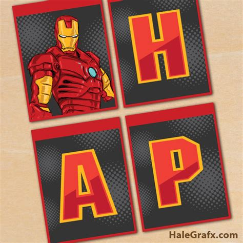 printable iron man comics free printable iron man birthday banner comics super