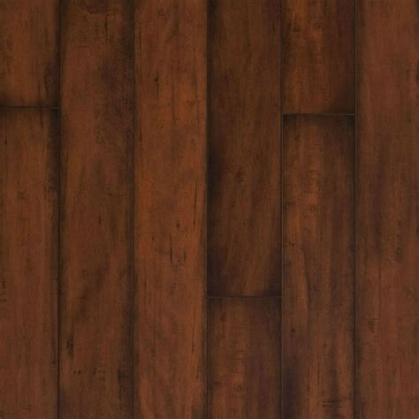 shop allen roth 4 84 in w x 3 96 ft l burnished cafe maple smooth laminate wood planks at