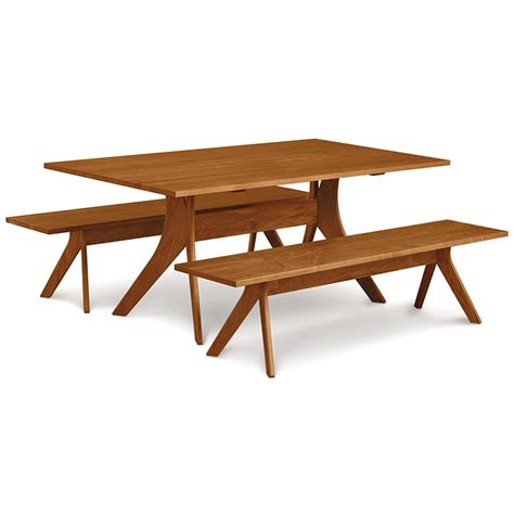 copeland cherry solid top dining table american