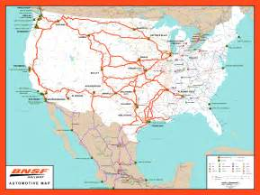 Bnsf Route Map by Ship With Bnsf Maps Amp Shipping Locations Rail Network