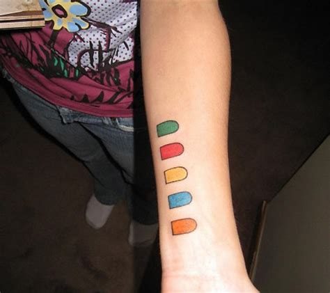 gaming tattoos 6 of the coolest gaming tattoos techeblog