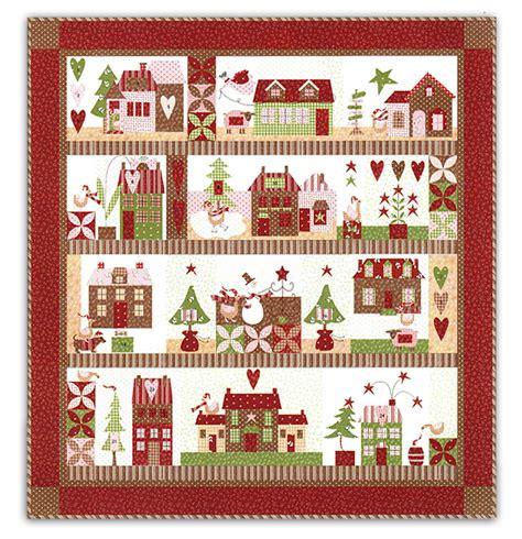 Quilt Block Of The Month Kits platinum package mistletoe quilt kit aurifil