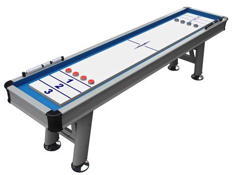 extera 9 outdoor shuffleboard table shuffleboard net