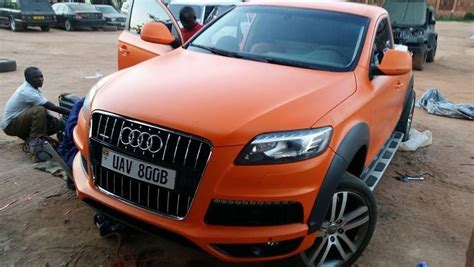 audi pickup truck audi q7 converted into a pick up truck in uganda naibuzz