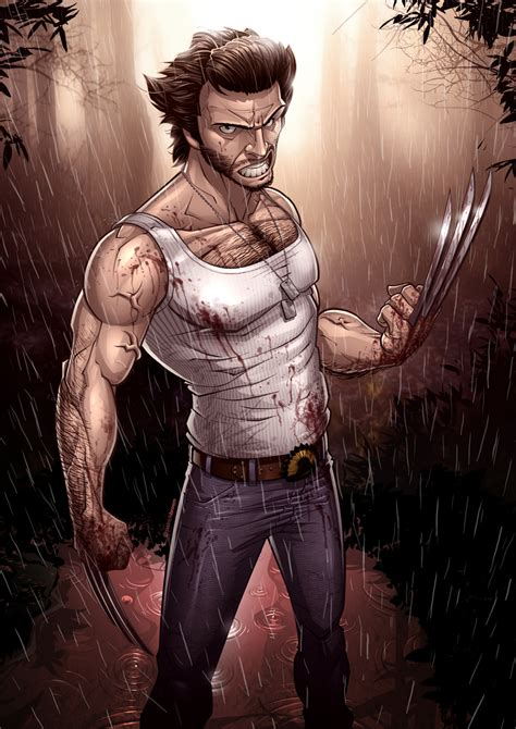 artistry of men x men origins wolverine by patrickbrown on deviantart