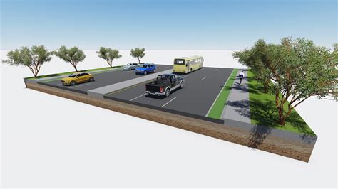 highway section how to make a 3d road cross section civil fx