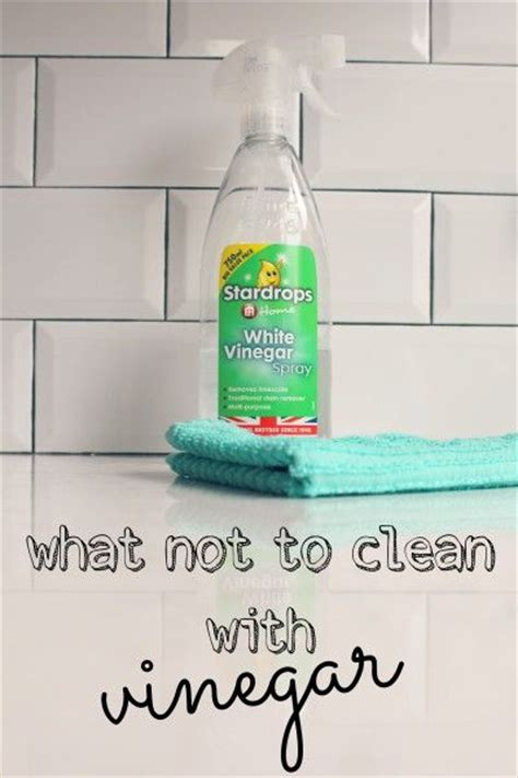 what not to clean with vinegar tips tricks