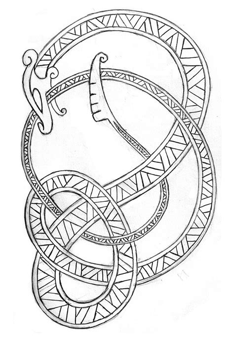 image result for norse sea serpent norse symbols 1000 images about viking designs on thors
