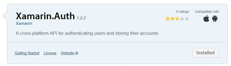 xamarin oauth tutorial xamarin auth custom accounts