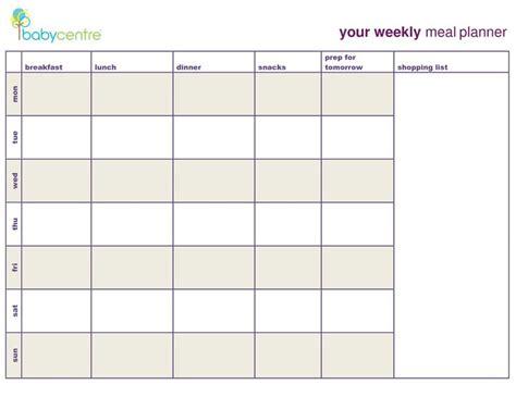 meal plan calendar template meal plan template search coach