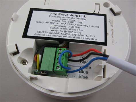 wiring diagram mains smoke alarm diagram free