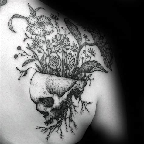 life or death tattoo design 50 designs for masculine ink ideas