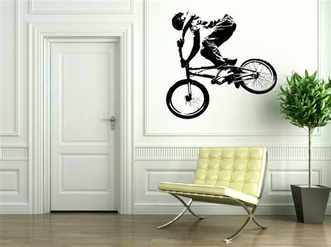 bmx wall stickers bmx bike