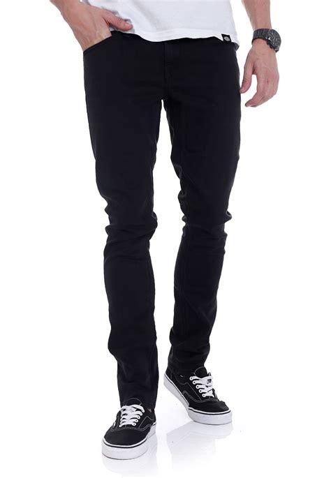 black x black denim volcom 2x4 denim ink black jeans streetwear shop