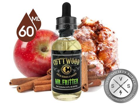 Premium Liquid Mr Baker Juice 60ml 10 Flavours mr fritter ejuice by cuttwood 30ml