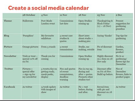 social media posting calendar template email marketing mailchimp and free ecommerce insights go