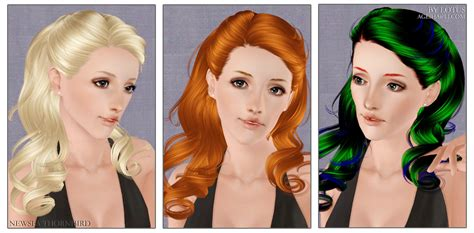 etenid sims 3custom content hair female hair custom content caboodle page 30