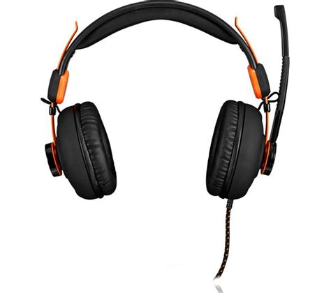 Headset Gaming H300 Black afx firestorm h01 gaming headset black orange deals pc world