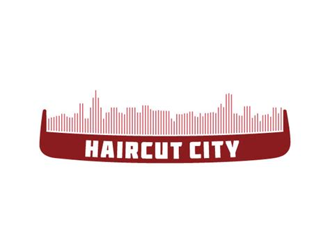 haircut city chicago logos identities by dave smith at coroflot com