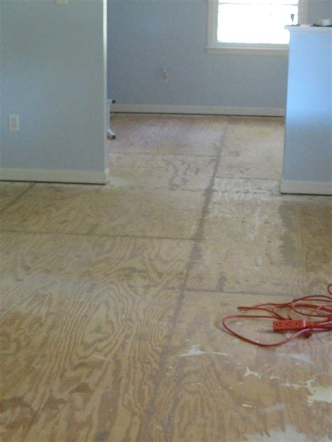hometalk painted plywood subfloor