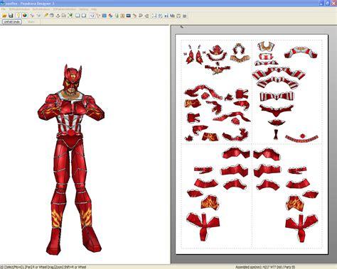 Marvel Papercraft - papercraft marvel sunfire papercraft4u free