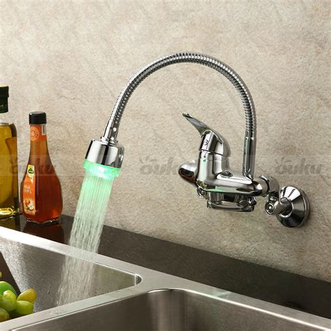 single handle wall mount kitchen faucet 2017 chrome single handle wall mount kitchen faucet color