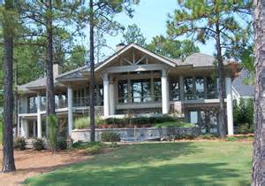Pinehurst nc water front homes architects stagaard amp chao architects