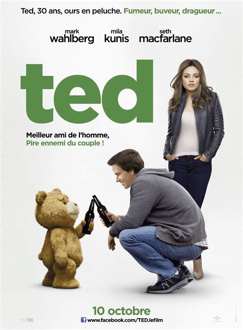 film ted ted 2012 poster freemovieposters net