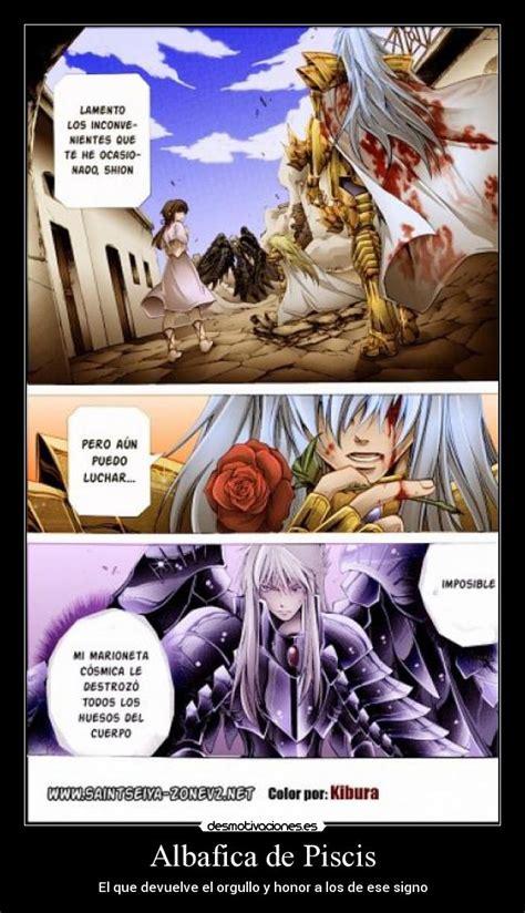 desmotivaciones de anime saint seiya lost canvas albafika de piscis desmotivaciones de anime saint seiya lost canvas albafika
