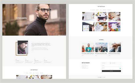 bootstrap templates for personal website bootstrap personal website template for engaging portfolio