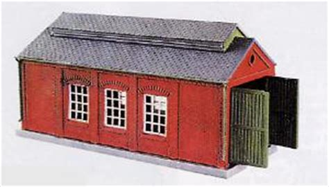 N Engine Shed by Hattons Co Uk Peco Products Nb 5 Engine Shed Brick