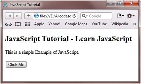 javascript tutorial easy javascript tutorial
