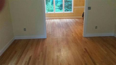 Staining Oak Floors by Staining 4 Quot White Oak Floors In Carlisle Ma Central