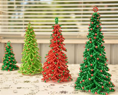 beading pattern christmas tree tutorial beading