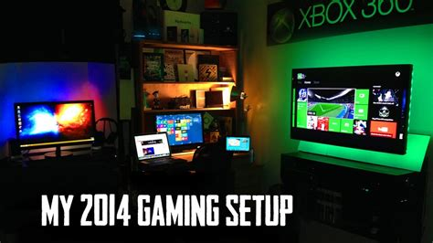 my ultimate gaming setup room tour youtube